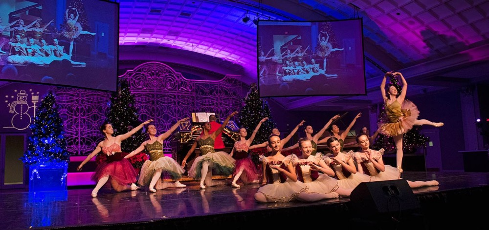 Talented dancers from the Cincinnati Ballet Otto M. Budig Academy perform their interpretation of highlights from The Nutcracker.