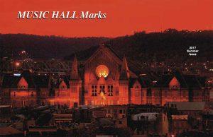 Music Hall Marks, Summer 2017
