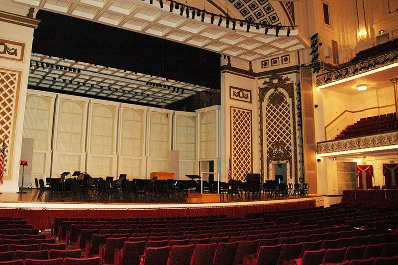 Springer Auditorium, before renovation