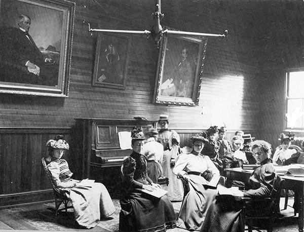 College of Music Class circa 1885