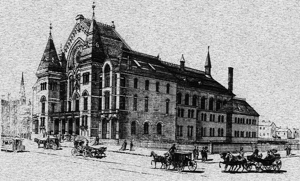 Cincinnati Music Hall 1878