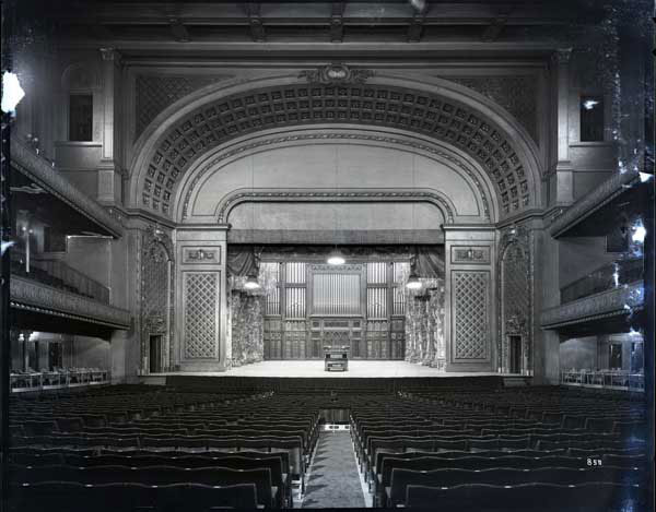 Music Hall Stage, 1928