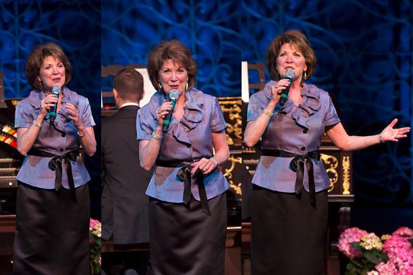 Cincinnati favorite Nancy James performs in 2016