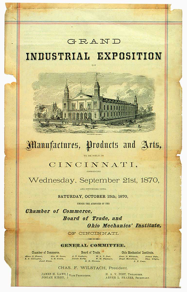 OMI Flyer: 1870 Grand Industrial Exposition
