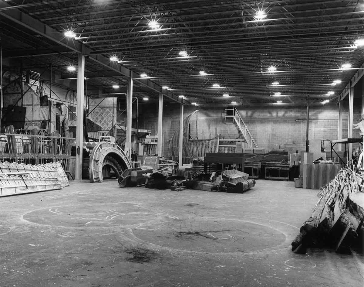 Scene shop during renovation