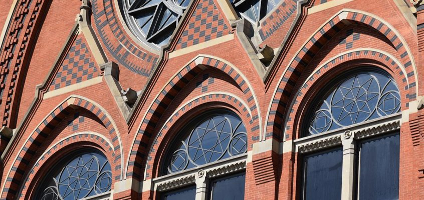 Restoration of the Tracery Windows in Corbett Tower