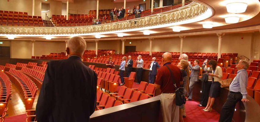 Public Tours of Cincinnati Music Hall are back!