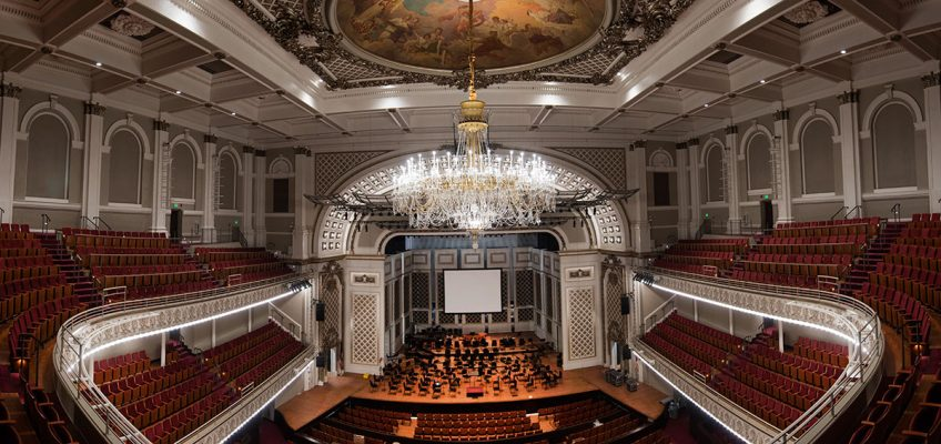 Springer Auditorium, Cincinnati Music Hall. Image credit: Phil Groshong