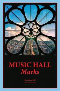 Music Hall Marks, Winter 2017