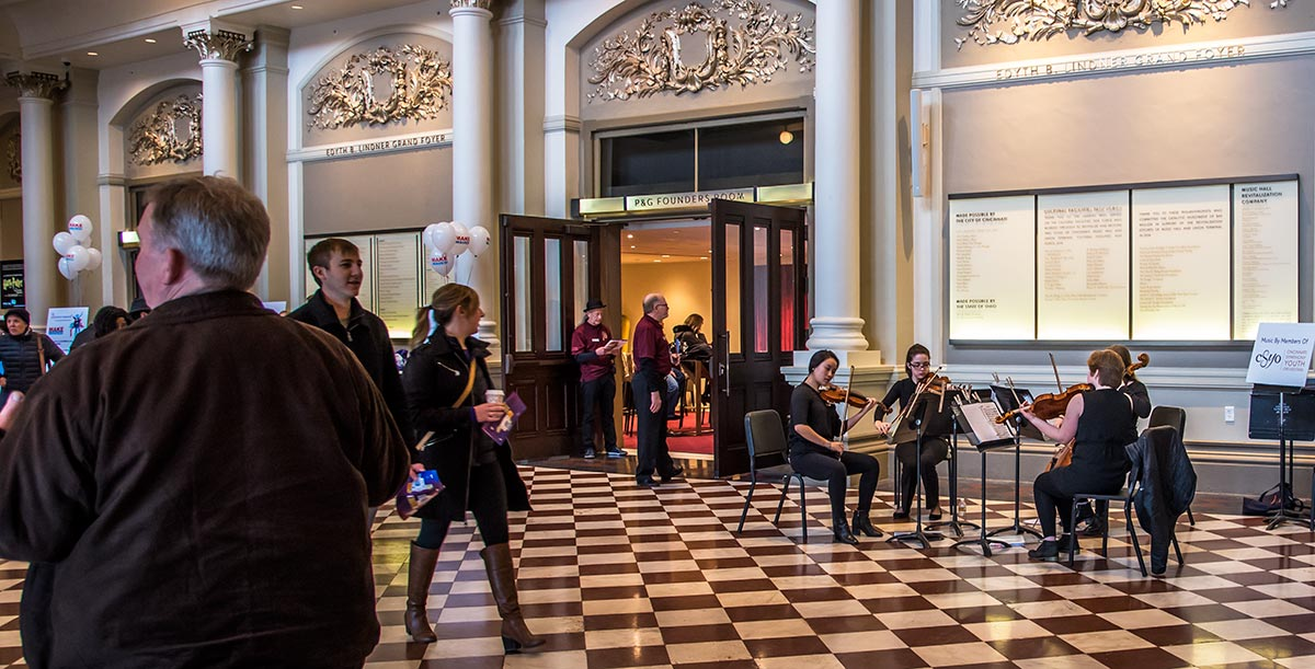Cincinnati Symphony Youth Orchestra ensemble