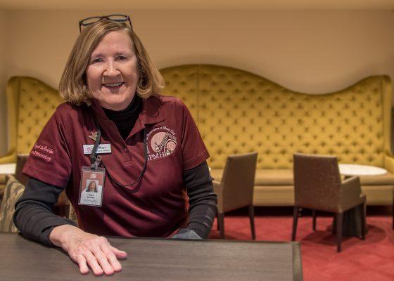 SPMH Volunteer Mary Bunker