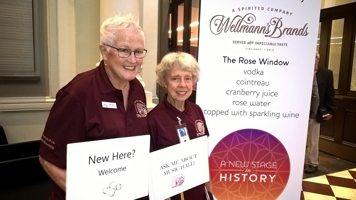 Denise McLinden and Judy Martin, SPMH Volunteers