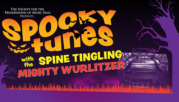 SPMH Presents Spooky Tunes with the Spine Tingling Mighty Wurlitzer Organ