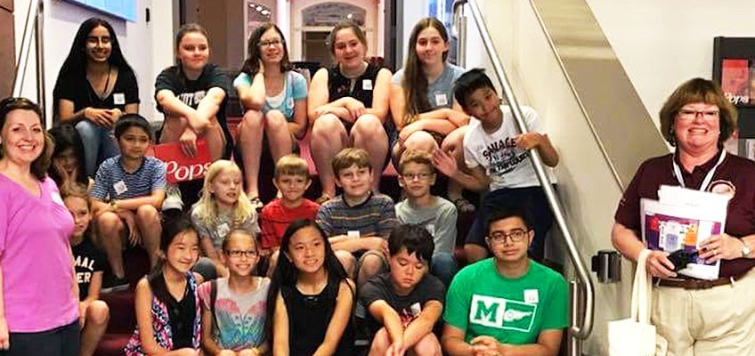 Students in the West Chester Silver Strings Program at Music Hall