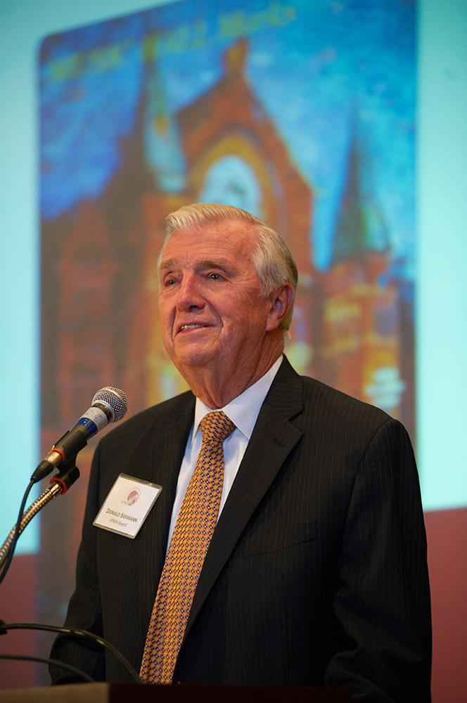 Don Siekmann at the 2014 SPMH Annual Meeting