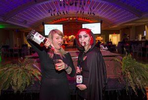 Wake the Dead Bash 2018 Molly Wellmann pours