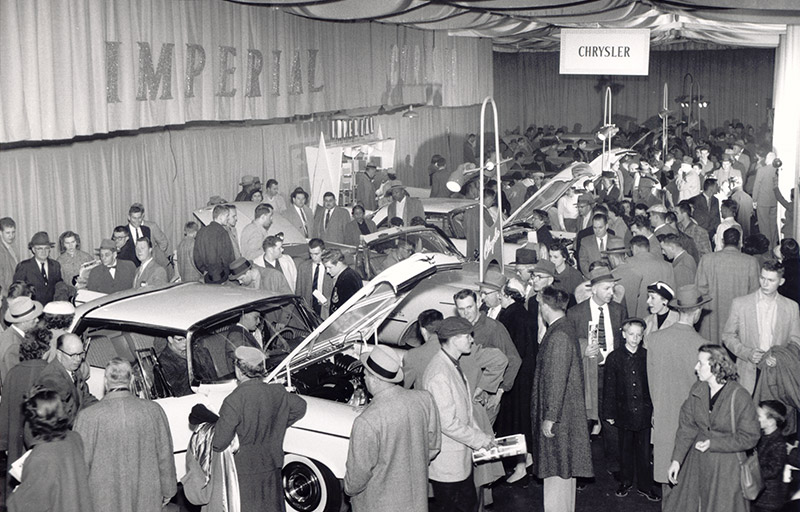 People flocked to the first Auto Expo held in decades