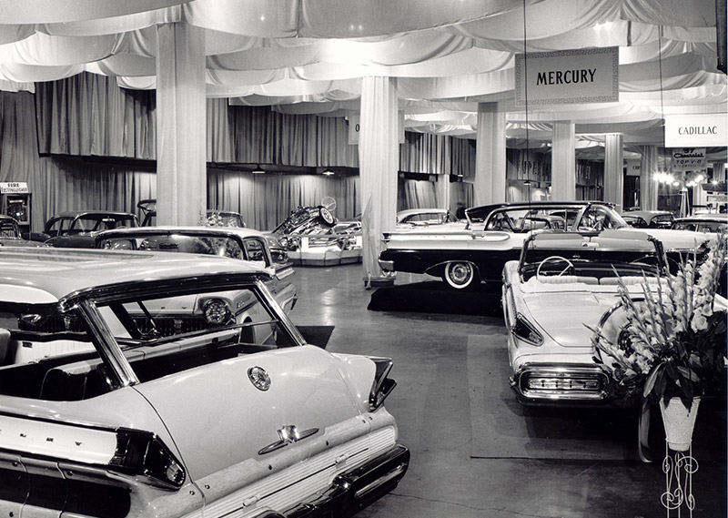Auto Show in Music Hall