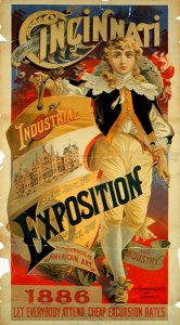 poster for 1886 Industrial Exposition