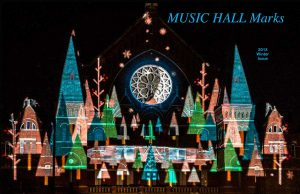 Music Hall Marks, Winter 2013