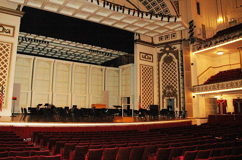 Springer Auditorium, before renovation