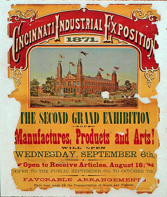 Cincinnati Industrial Exposition 1871