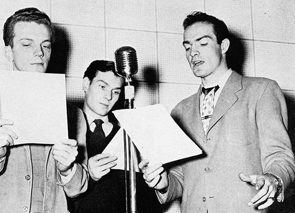 College of Music Radio Broadcast 1949