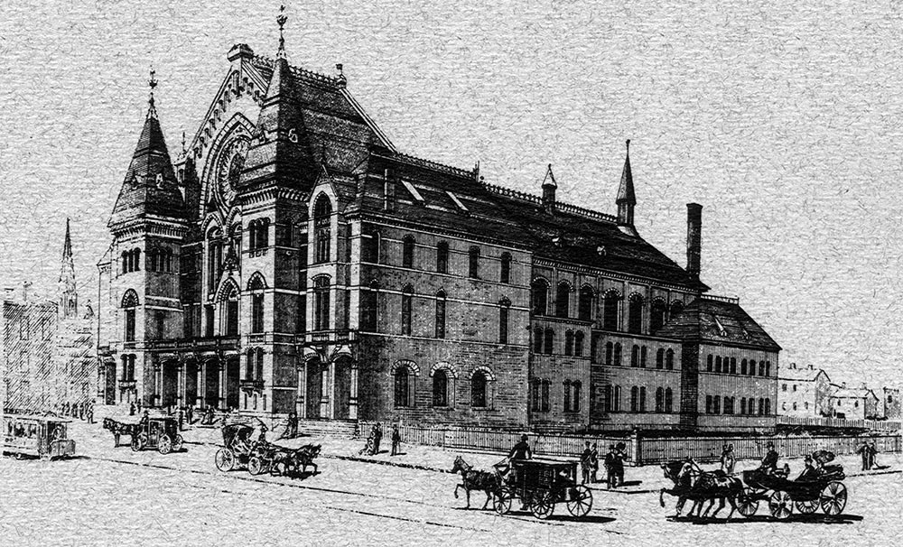 Cincinnati Music Hall 1878