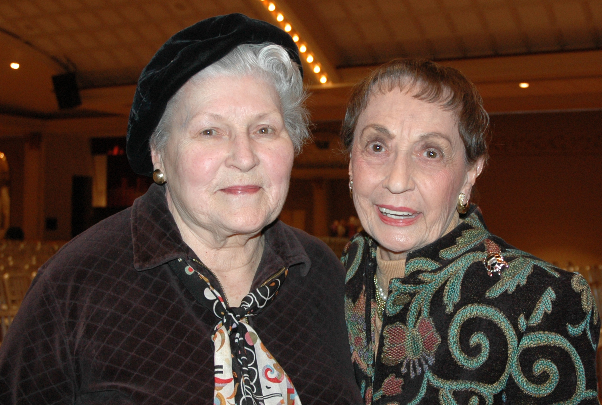 Joyce VanWye and Norma Petersen