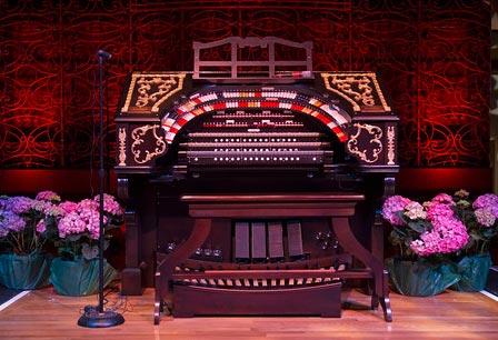 The Albee Mighty Wurlitzer Organ in Music Hall Ballroom