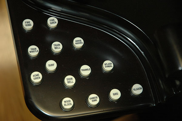 Wurlitzer Effects Tray