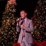 Vocalist Anthony Snitker sang holiday favorites