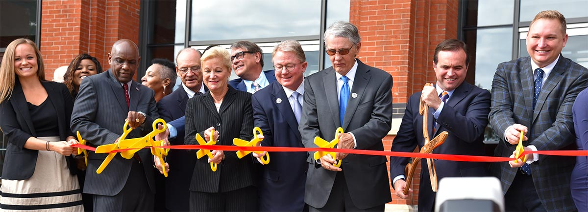 Ribbon Cutting marking the Official Opening of Cincinnati Music Hall