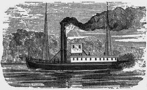 An 1815 Steamboat, Enterprise, Louisville