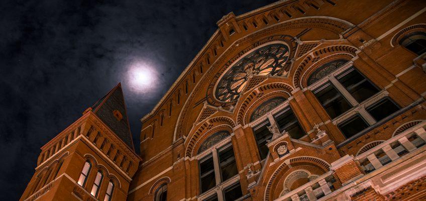 Moon over Music Hall