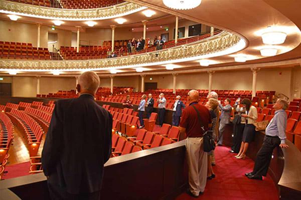 SPMH Tour in Springer Auditorium