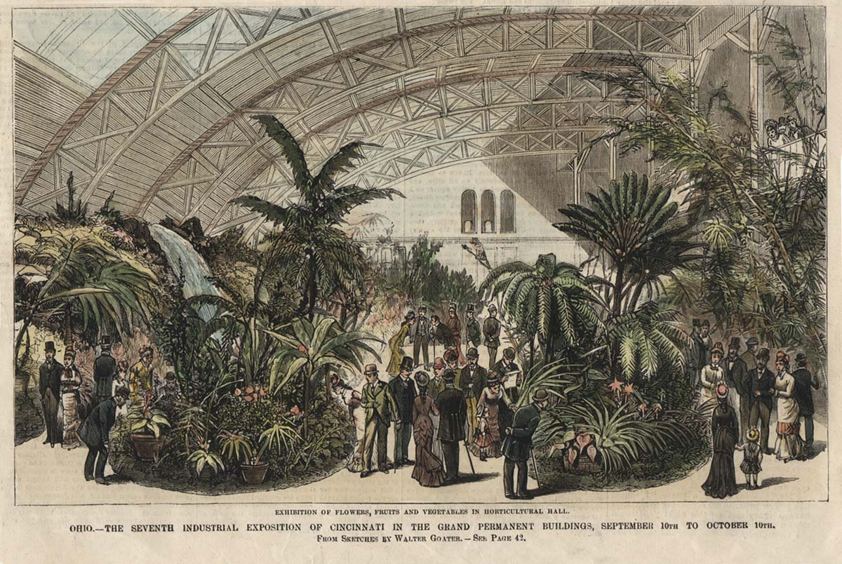 Horticultural Hall, Music Hall, 1879
