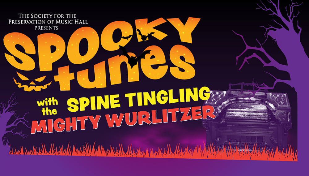 Spooky Tunes with the Mighty Wurlitzer Organ