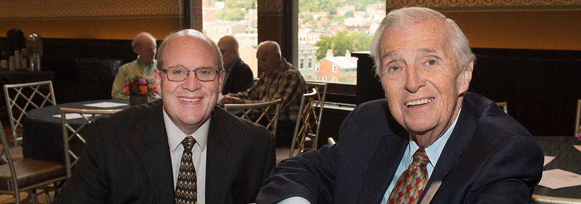 SPMH VP Ed Rider and SPMH Past President Don Siekmann