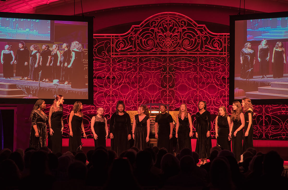 Baby Grands, the SCPA award-winning A Capella Vocal Group
