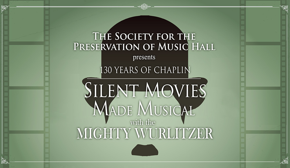SPMH presents Silent Movies Made Musical with the Mighty Wurlitzer