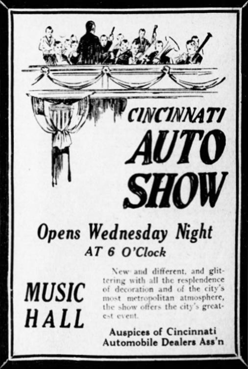 Auto Show Ad