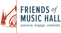 Friends of Music Hall logo formerly SPMH Cincinnati