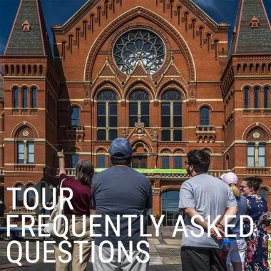 Tour FAQ- Frequently Asked Questions
