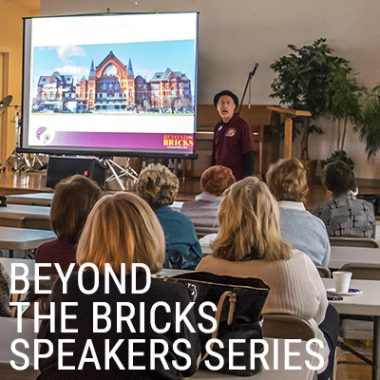 Beyond the Bricks Speakers Series