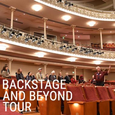 Backstage & Beyond Indoor Tour of Music Hall