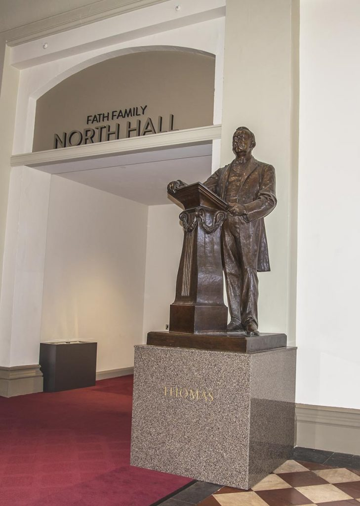 Statue of Theodore Thomas in Cincinnati Music Hall