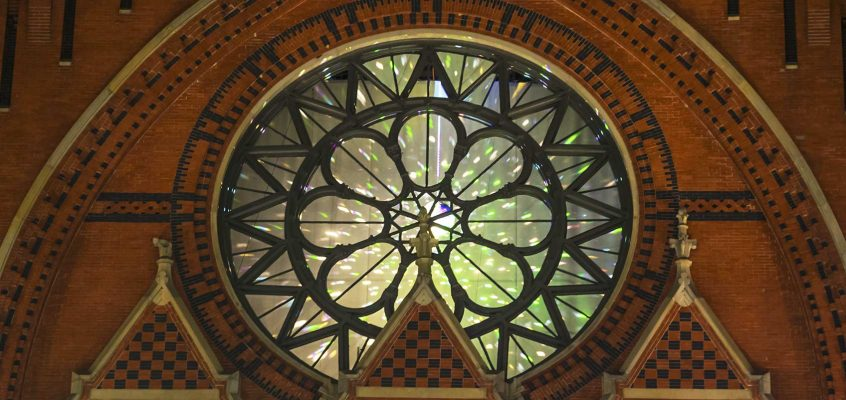 Rose Window during BLINK
