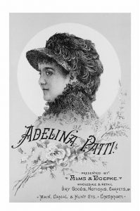 Alms & Doepke's Adelina Patti-1882 CMC Opera Festival Program From the Collection of The Public Library of Cincinnati and Hamilton County