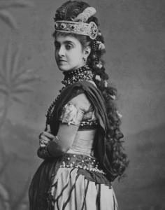 Adelina Patti in Aida, 1895, Covent Garden